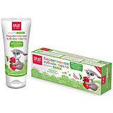 Натуральная зубная паста для детей от 2 до 6 лет, Splat Kids , земляника-вишня