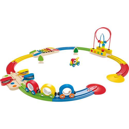 HAPE Abenteuer Eisenbahn-Set mit Musikinstrumenten Sale Angebote Sargstedt