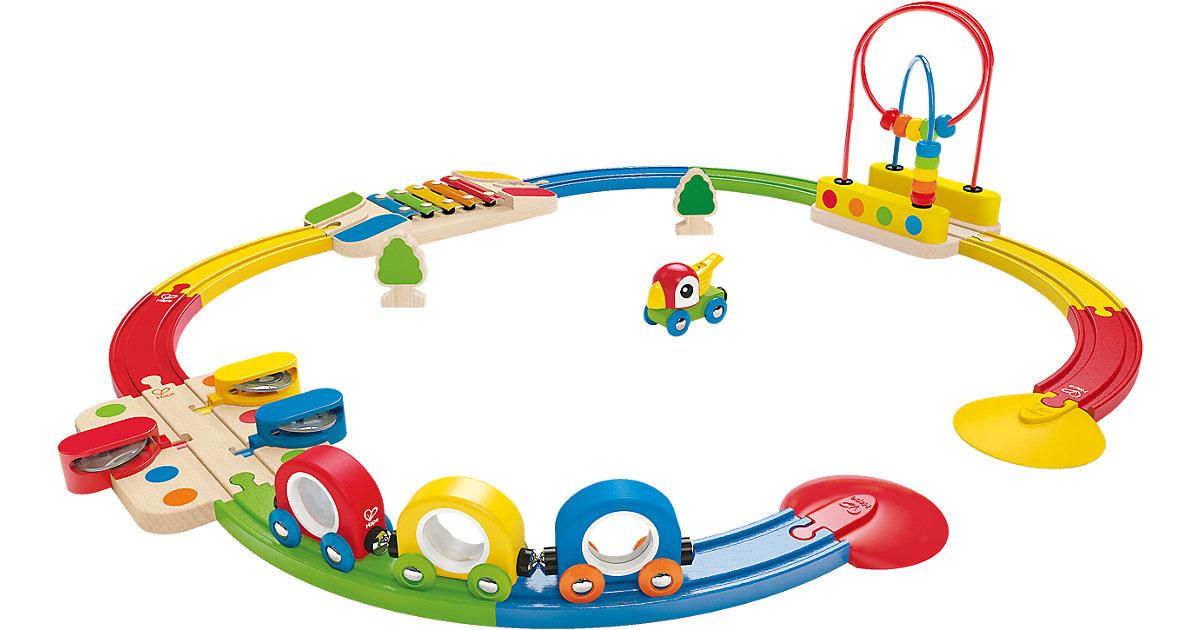 Abenteuer Eisenbahn-Set mit Musikinstrumenten