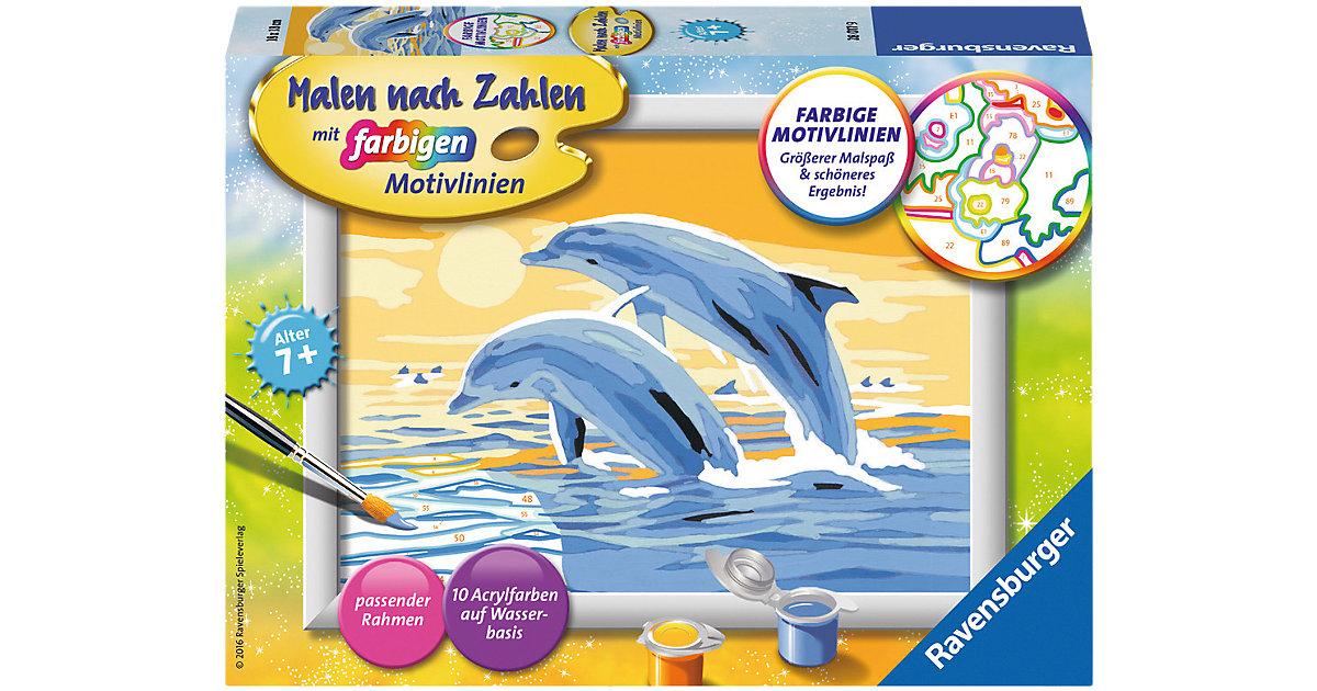 Malen nach Zahlen Freunde des Meeres Serie E