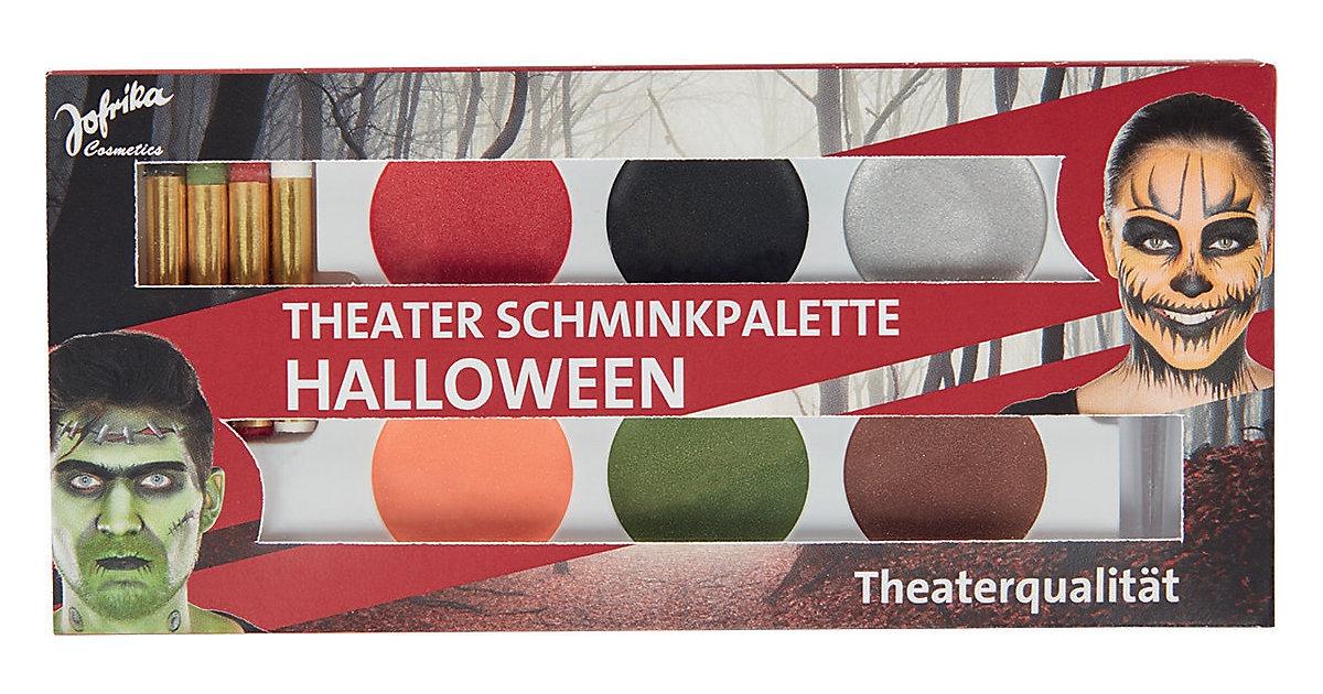 Theater Schminkpalette Halloween, 4 Schminkstif...