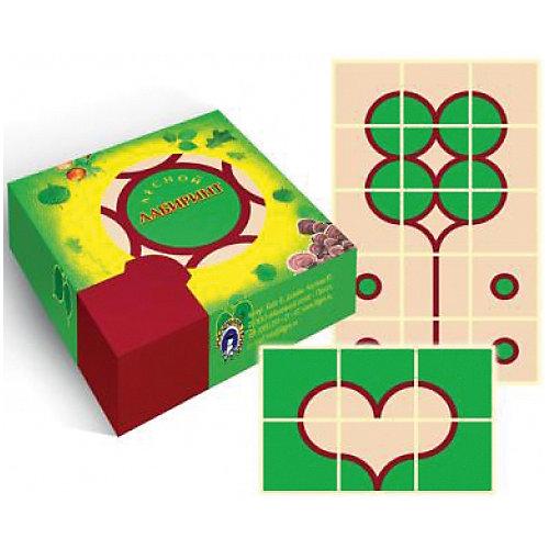 """Игровые карточки """"Лесной лабиринт"""" от Маленький гений"""
