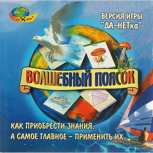 """Развивающая игра с карточками """"Волшебный поясок"""" от Корвет"""