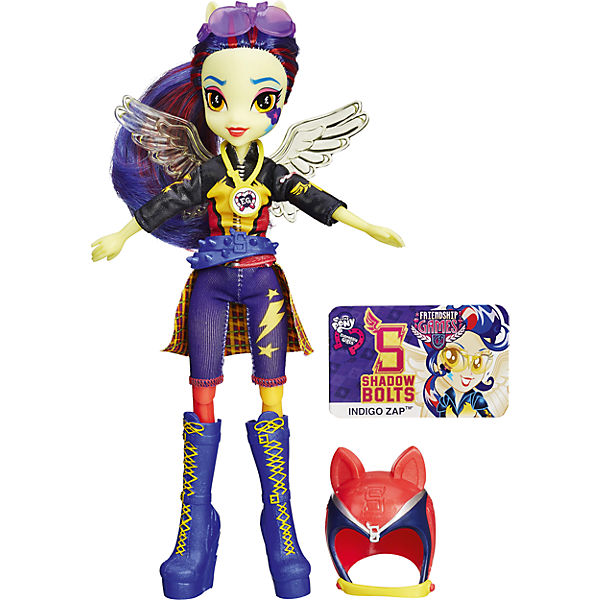 Кукла Индиго Зап (гонщица), Шедоуболт, с аксессуарами, Эквестрия герлз