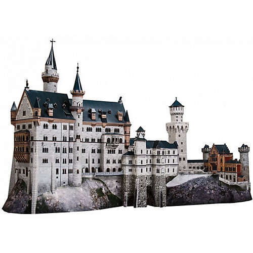 """Сборная модель """"Замок """"Neuschwanstein"""" от Умная Бумага"""