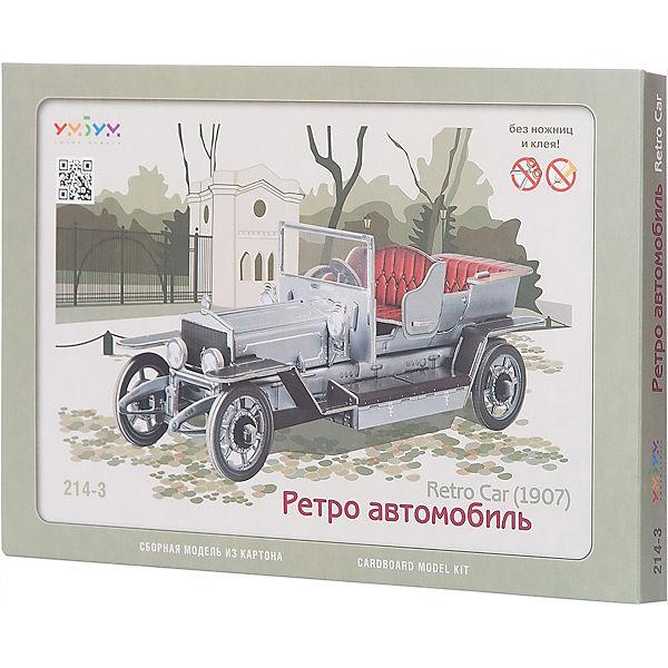 """Сборная модель """"Ретро автомобиль"""""""