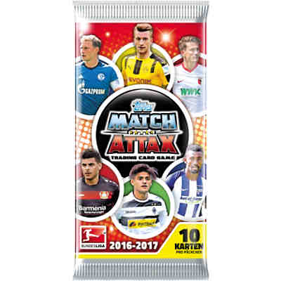 Match Attax 2016/17 Booster