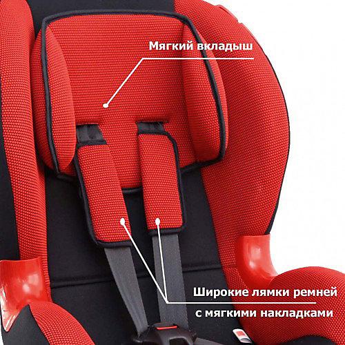 Автокресло Siger Кокон isofix 9-25 кг, красный от Siger