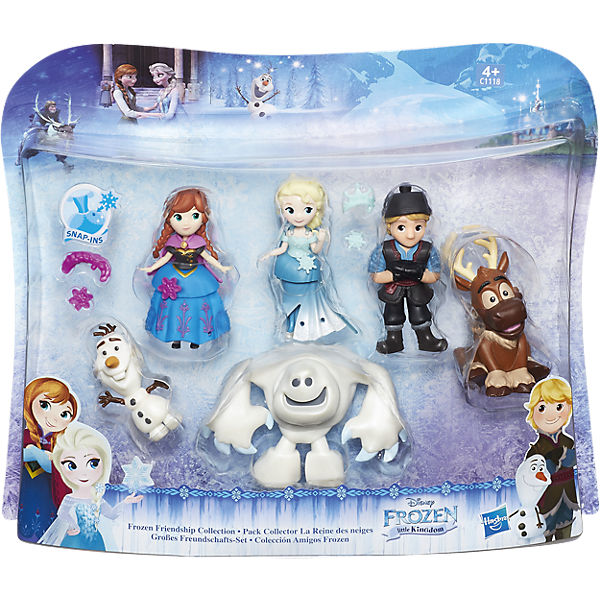 Набор маленьких кукол Холодное сердце для коллекционеров, Hasbro