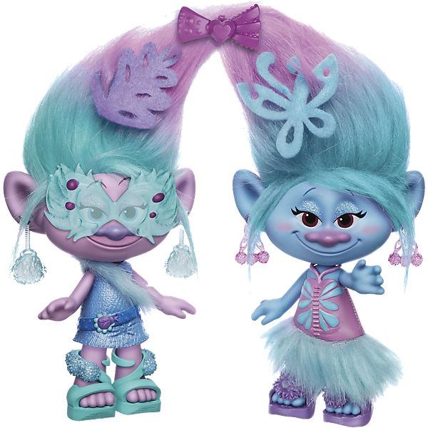 Trolls Die Fashion Zwillinge, 20cm, Trolls