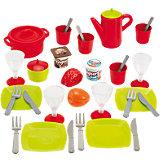 Набор посудки Ecoiffier 36 предметов, в коробке