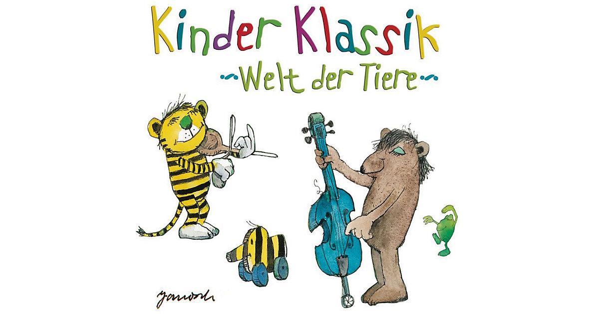 CD Kinder Klassik - Welt der Tiere (2 CDs)