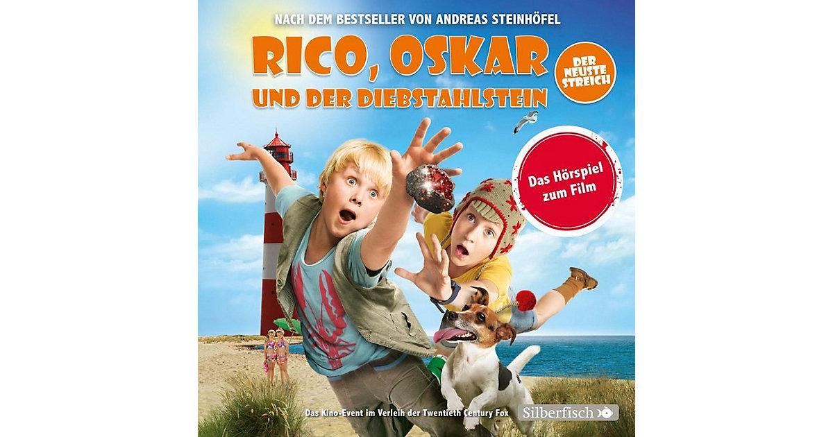CD Rico, Oskar und der Diebstahlstein - Filmhörspiel (2 CDs) Hörbuch