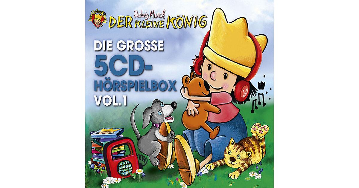 Universal · CD Der kleine König - Die Große 5-CD Hörspielbox Vol.1
