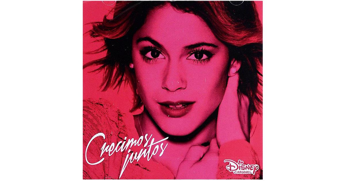 CD Violetta - Crecimos Juntos (Soundtrack, Staf...