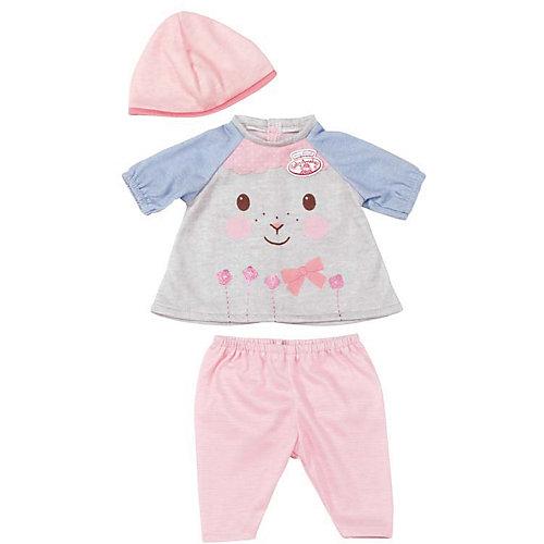 Одежда для куклы 36 см, my first Baby Annabell, цвет Серо-голубой от Zapf Creation
