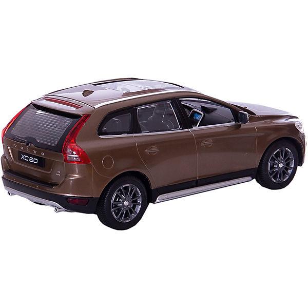 RASTAR Радиоуправляемая машина Volvo XC60 1:14, коричневая