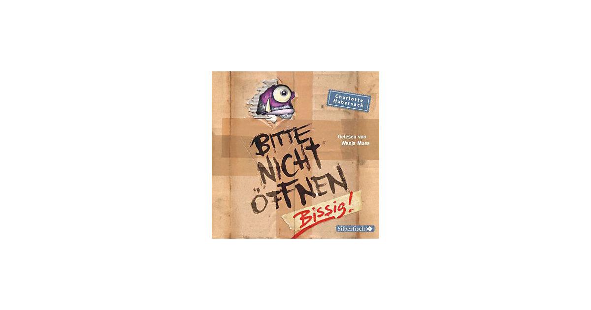 Bitte nicht öffnen - Bissig!, 2 Audio-CDs Hörbuch