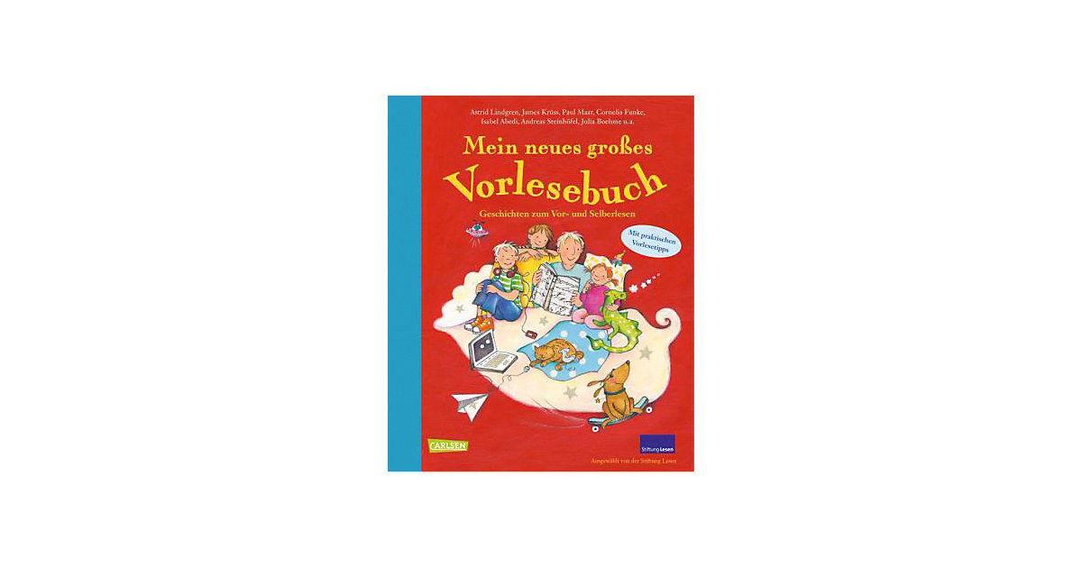 Buch - Mein neues großes Vorlesebuch, Sammelband der Stiftung Lesen