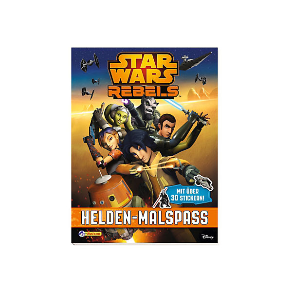 Rebels: Helden-Malspaß Star Wars