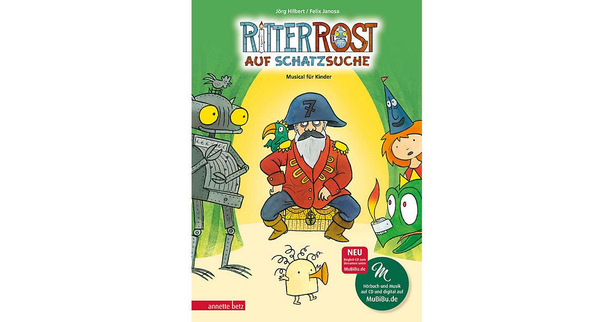 Ritter Rost auf Schatzsuche, mit Audio-CD