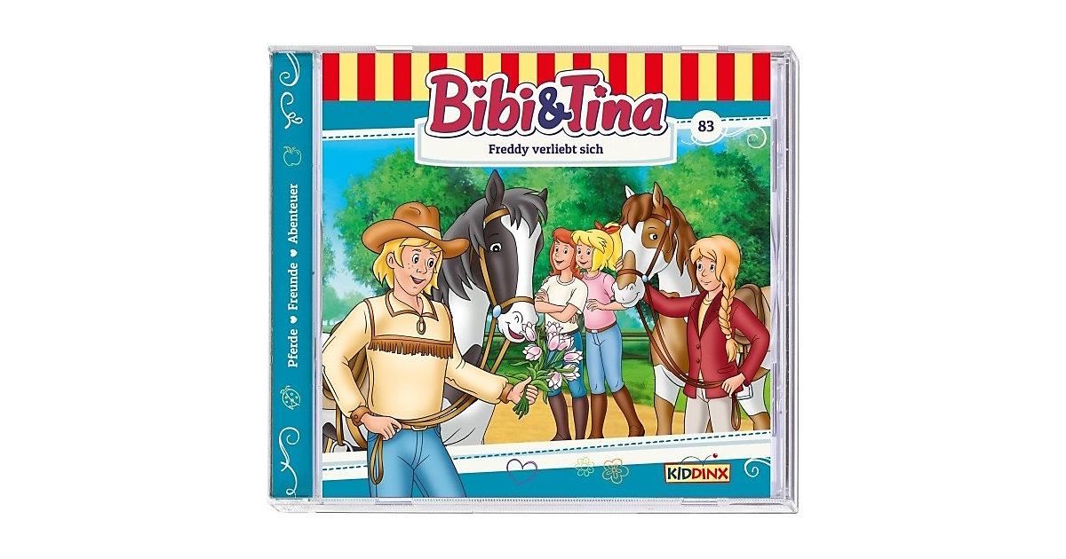 CD Bibi & Tina - Freddy verliebt sich 83 Hörbuch