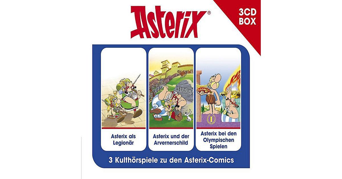 CD Asterix-Asterix-3-CD Hörspielbox Vol.4 Hörbuch