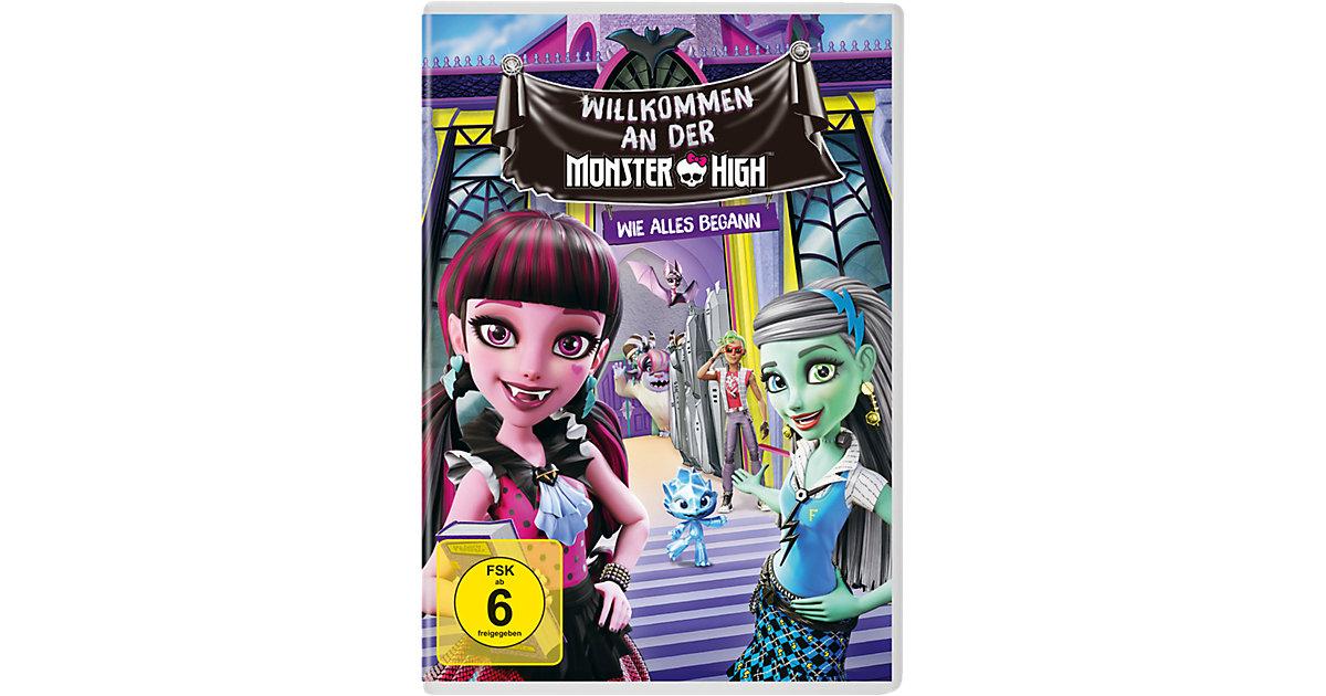 DVD Monster High - Willkommen an der Monster High