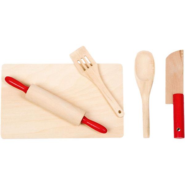 Küchenutensilien 5tlg. Aus Holz, Glow2B