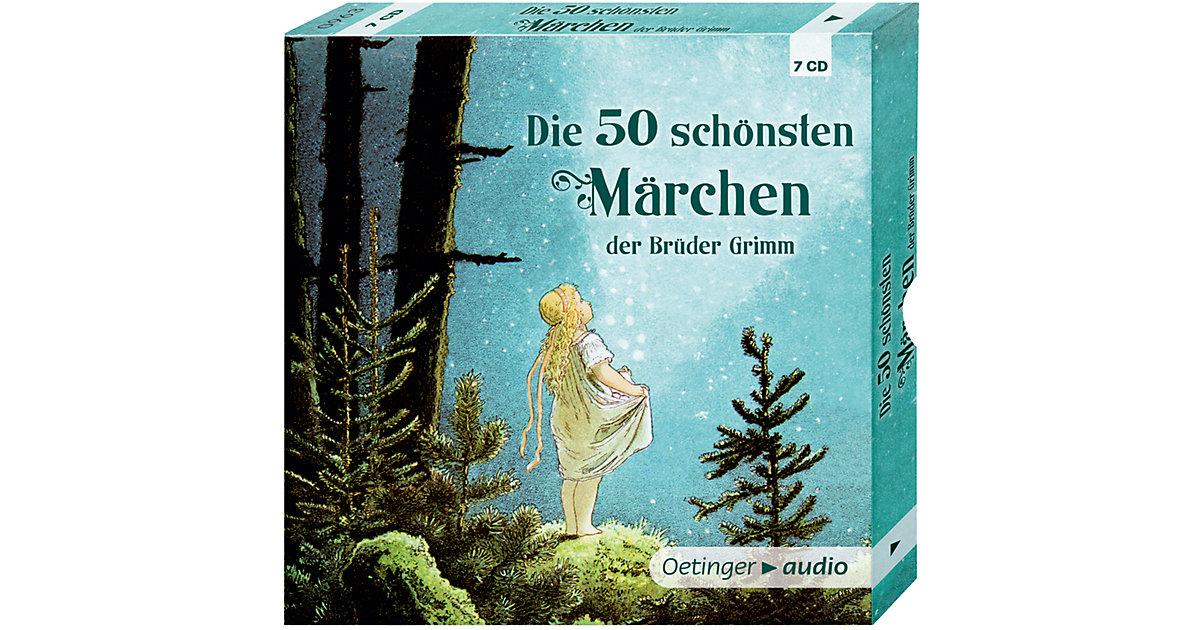 Die 50 schönsten Märchen der Brüder Grimm, 7 Au...