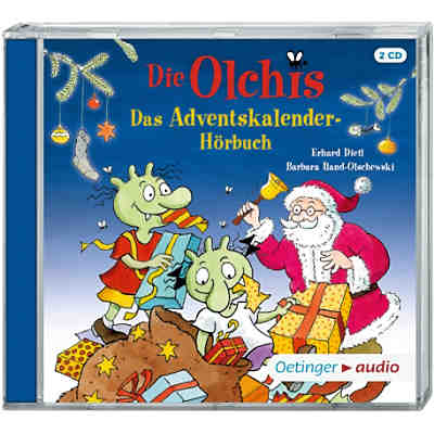 Die Olchis - Adventskalenderhörbuch, 2 Audio-CDs
