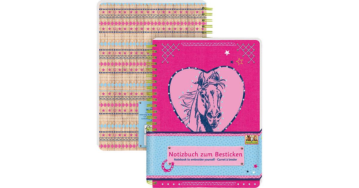 Notizbuch zum Besticken Pferdefreunde