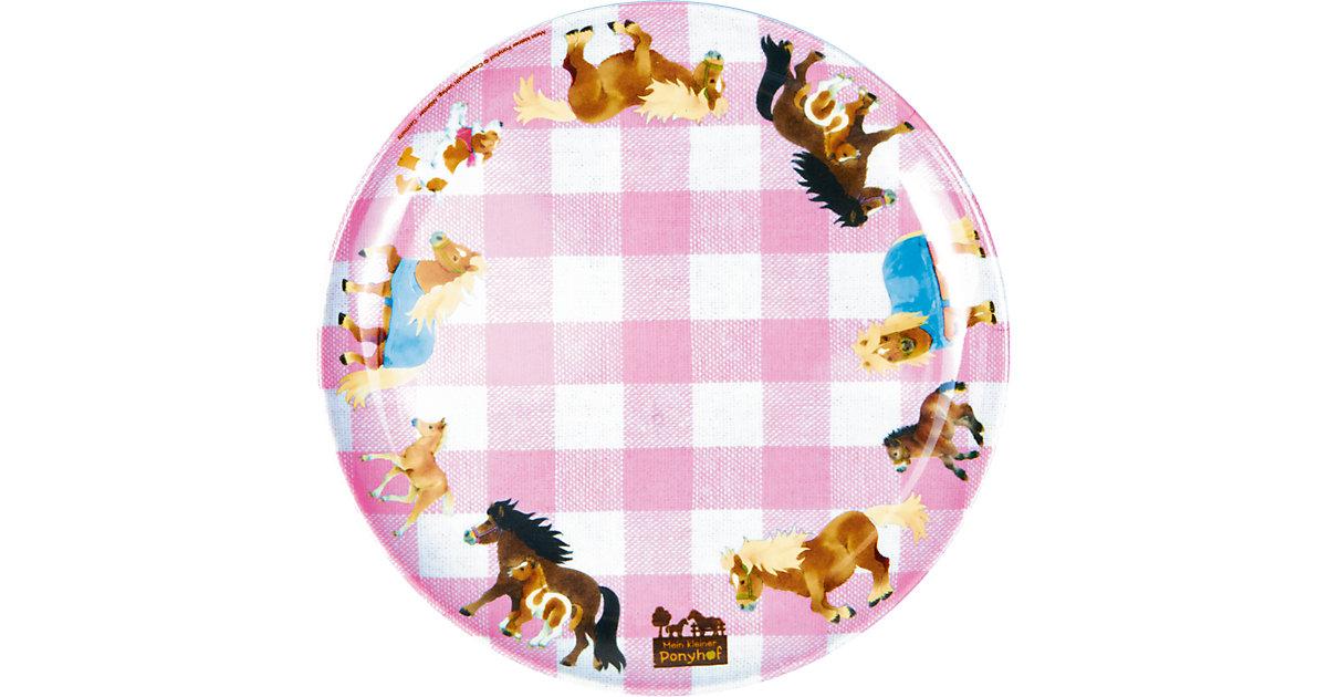 Melamin-Teller Mein kleiner Ponyhof