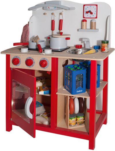 myToys Holzspielküche mit Zubehör myToys