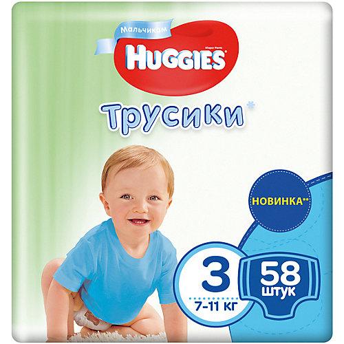 Трусики-подгузники Huggies 3 Mega Pack для мальчиков, 7-11кг, 58 шт. от HUGGIES