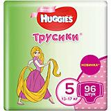 Трусики-подгузники Huggies для девочек 13-17 кг, Disney Box 48х2, 96 штук