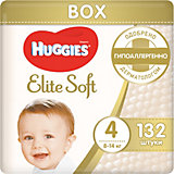 Подгузники Huggies Elite Soft 4, 8-14 кг, 132 шт.