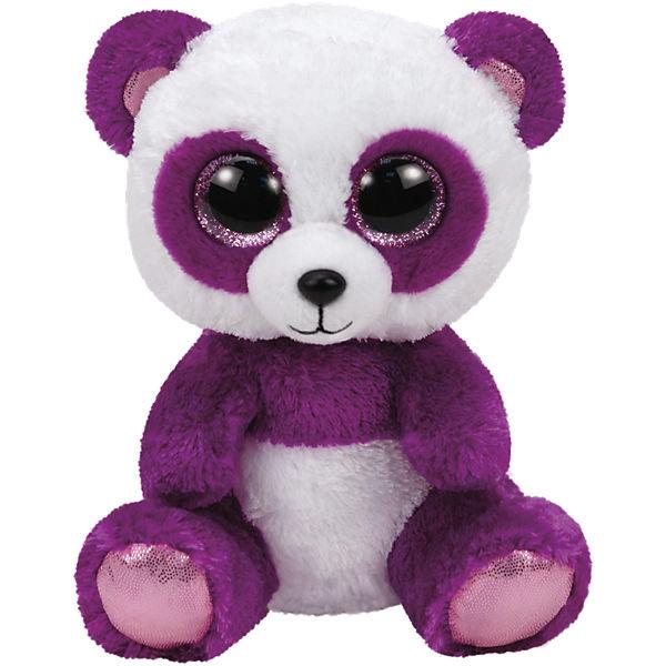 Beanie Boo Panda Boom Boom violett/weiss, 24cm, Ty