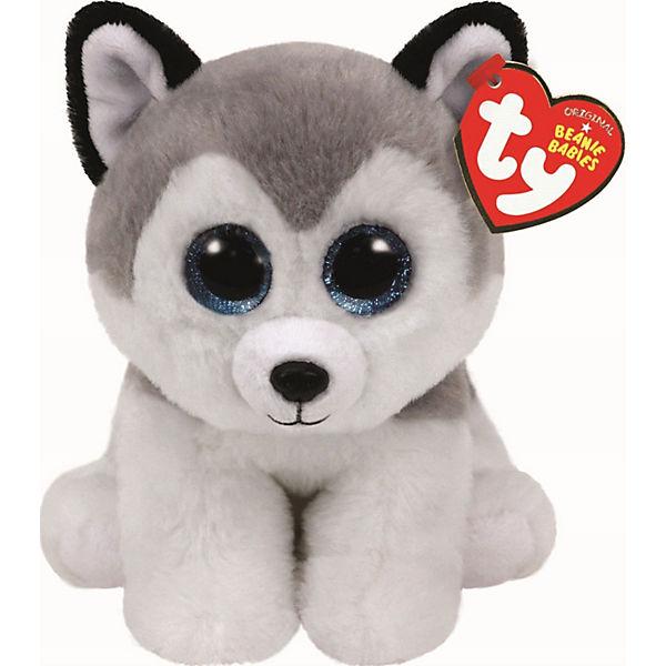 3a06100738 Beanie Babies Husky 15cm Buff