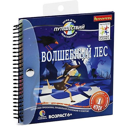 """Магнитная игра для путешествий """"Волшебный лес"""", Bondibon"""