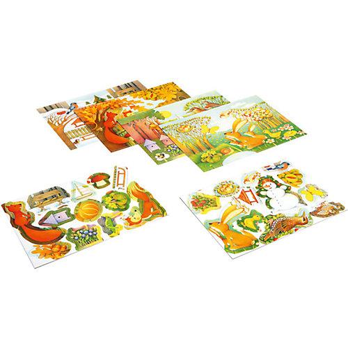 """Настольная игра """"Четыре времени года"""" из серии Королевство добрых игр, Bondibon от Bondibon"""