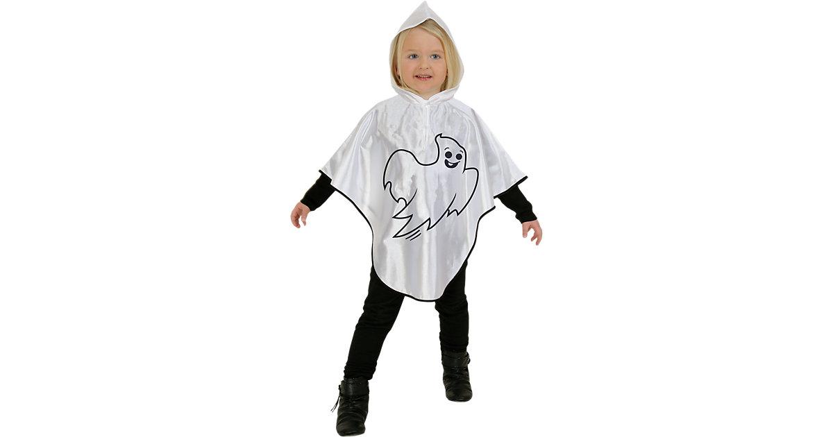 Kostüm Cape Kleiner Geist weiß Gr. 98
