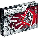 Магнитный конструктор  Geomag Black & White, 68 деталей