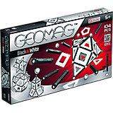 Магнитный конструктор Geomag Black & White, 104 детали