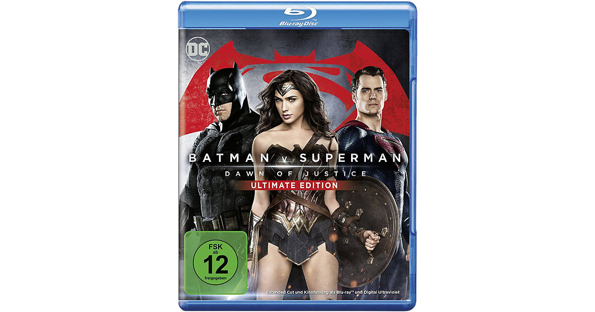 Batman · BLU-RAY Batman V Superman: Dawn of Justice
