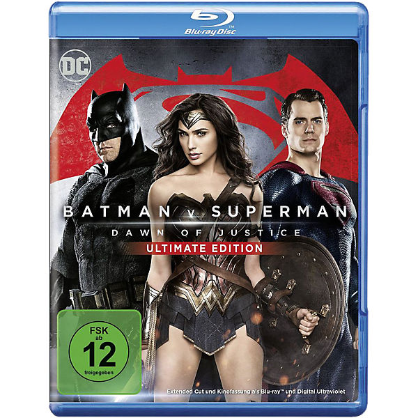 BLU-RAY Batman V Superman: Dawn of Justice