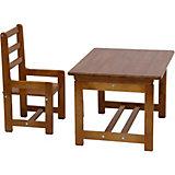 Комплект детской мебели Фея Растем вместе, орех