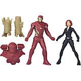 Набор из 2 игровых фигурок Marvel Avengers, Железный Человек и Чёрная Вдова