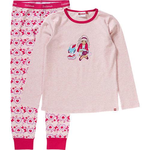 LEGO Schlafanzug FRIENDS Gr. 128 Mädchen Kinder | 05700067340945