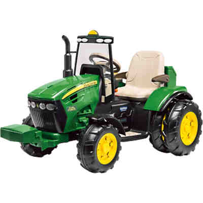 john deere elektrofahrzeug mit anh nger 12v john deere. Black Bedroom Furniture Sets. Home Design Ideas